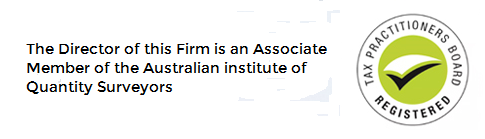 The Director of this firm is an Associate Member of the Australian Institute of Quantity Surveyors